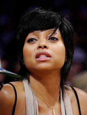 taraji+p+henson+lakers+game The Curious Case of Taraji P. Hensons Hair