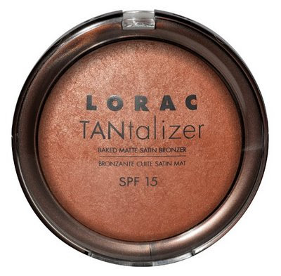 Lorac+Tantalizer+Bronzer+SPF+15 You Glow Girl: LORAC TANtalizer Baked Matte Satin Bronzer SPF 15