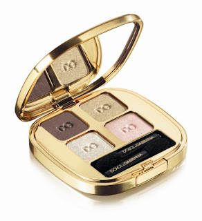 Dolce+and+Gabbana+the eye shadow SMOOTH EYE COLOUR QUAD in GOLDS Dolce & Gabbana The Make Up: Fall Romantic Collection and Holiday Golden Beams Collection