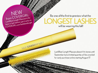 covergirl+lashblast+length+mascara Coming Soon: CoverGirl LashBlast Length Mascara