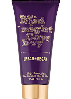 urban+decay+midnight+cowboy+body+shimmer+lotion After Midnight, Were Gonna Let It All Bling Out