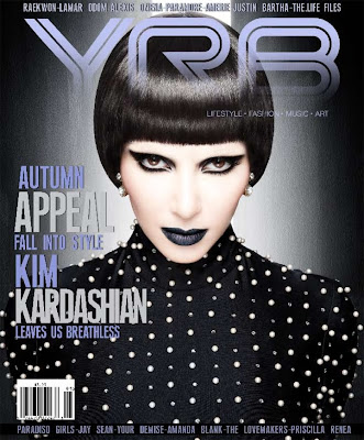 kim+kardashian+yrb+magazine+1 Kim Kardashian Shows Off Her Dark Side In YRB Magazine