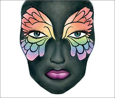 1 FabFWingsOfBeauty MAC Halloween Face Charts 2009: Drop Undead Gorgeous