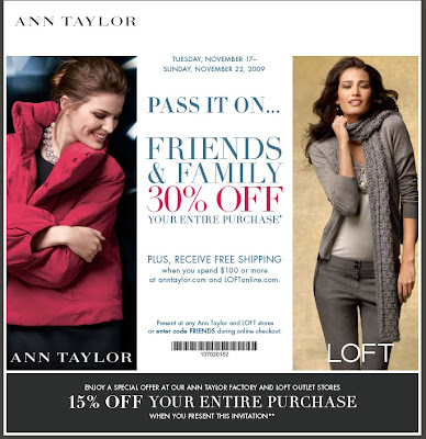 ann+taylor+friends+and+family Ann Taylor Friends & Family 2009: 30% OFF