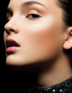 "shimmery+cheekbones Makeup Mondays With Mario: How To ""Luminize"" Your Face"