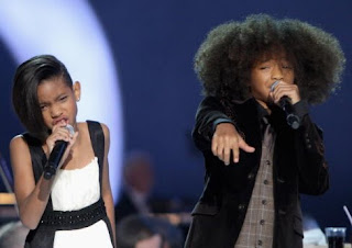 jaden+and+willow+smith Willow Smiths Rihanna Hairstyle