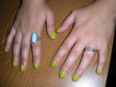 opi+who+the+shrek+are+you Nailing It: Going Green