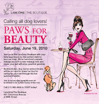 Lancome+Paws+for+Beauty Lancôme Paws for Beauty Event in NYC on June 19