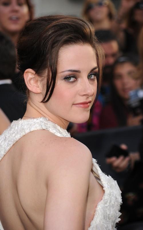 kristen stewart twilight premiere hair. Kristen Stewart#39;s tresses