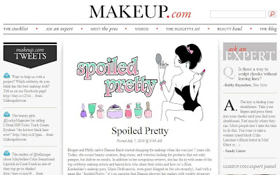 Spoiled Pretty Is Makeup.coms Blog of the Week!