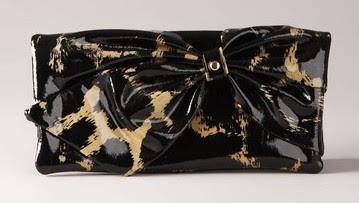 Felix+Rey+leopard+wallet Felix Rey Bow Pochette Wallet