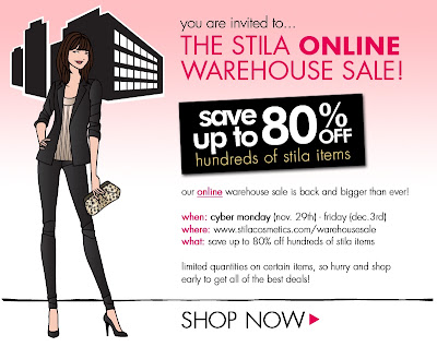 Stila Cosmetics Cyber Monday Sale 2010