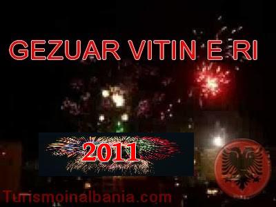 Buon capodanno in Albania - Gezuar Vitin e ri