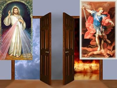 + Só a infinita Misericórdia de Deus, aliada à nossa sincera conversão, nos pode livrar do Inferno eterno! + Ó meu Jesus, perdoai-nos e livrai-nos do fogo do Inferno!...
