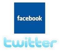 <br> Facebook  e Twitter - Redes S
