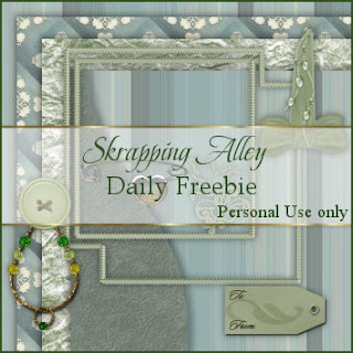 http://skrappingalley.blogspot.com/2009/04/daily-freebie-mini-kit-green-quilt.html