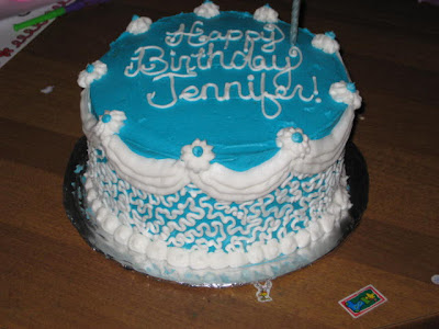 Jen Cinclair birthday cake. Jen Happy Birthday Jennifer!