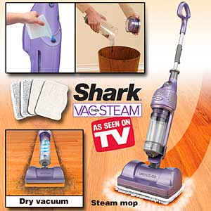 Little Miss Reluctant Shark Vac Then Steam A Review