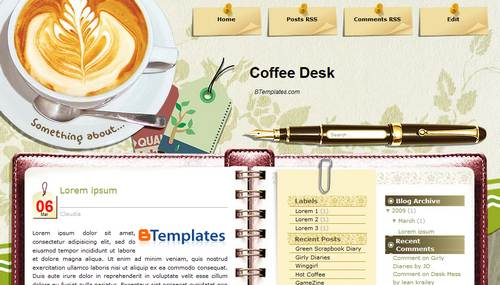free blogger template .