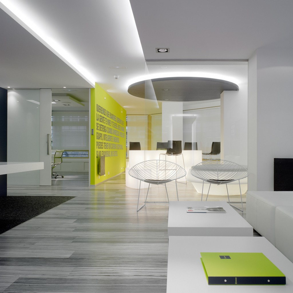 Imagine these office interior design maxan office a coru a spain a f architects abeij n - Office interior design ...