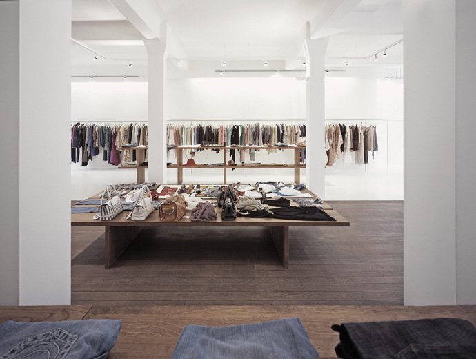 Product Design Hamburg retail interior design | anita hass | fashion store 2 | hamburg