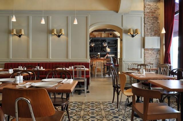 Imagine these cafe interior design la bonne bouche