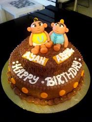 Upin Ipin Cake ;)