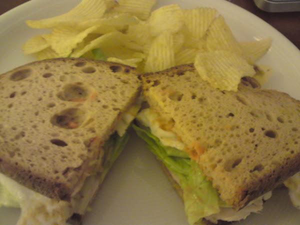 Glutenfreies Clubsandwich!