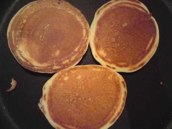 REZEPT: amerikanische Buttermilch Pancakes