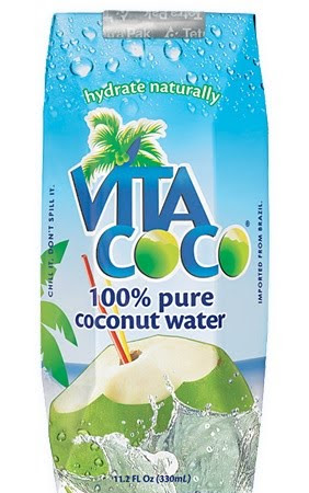 VITA COCO - 100% Kokosnusswasser, 100% glutenfrei, kein Fett, wenig Kalorien