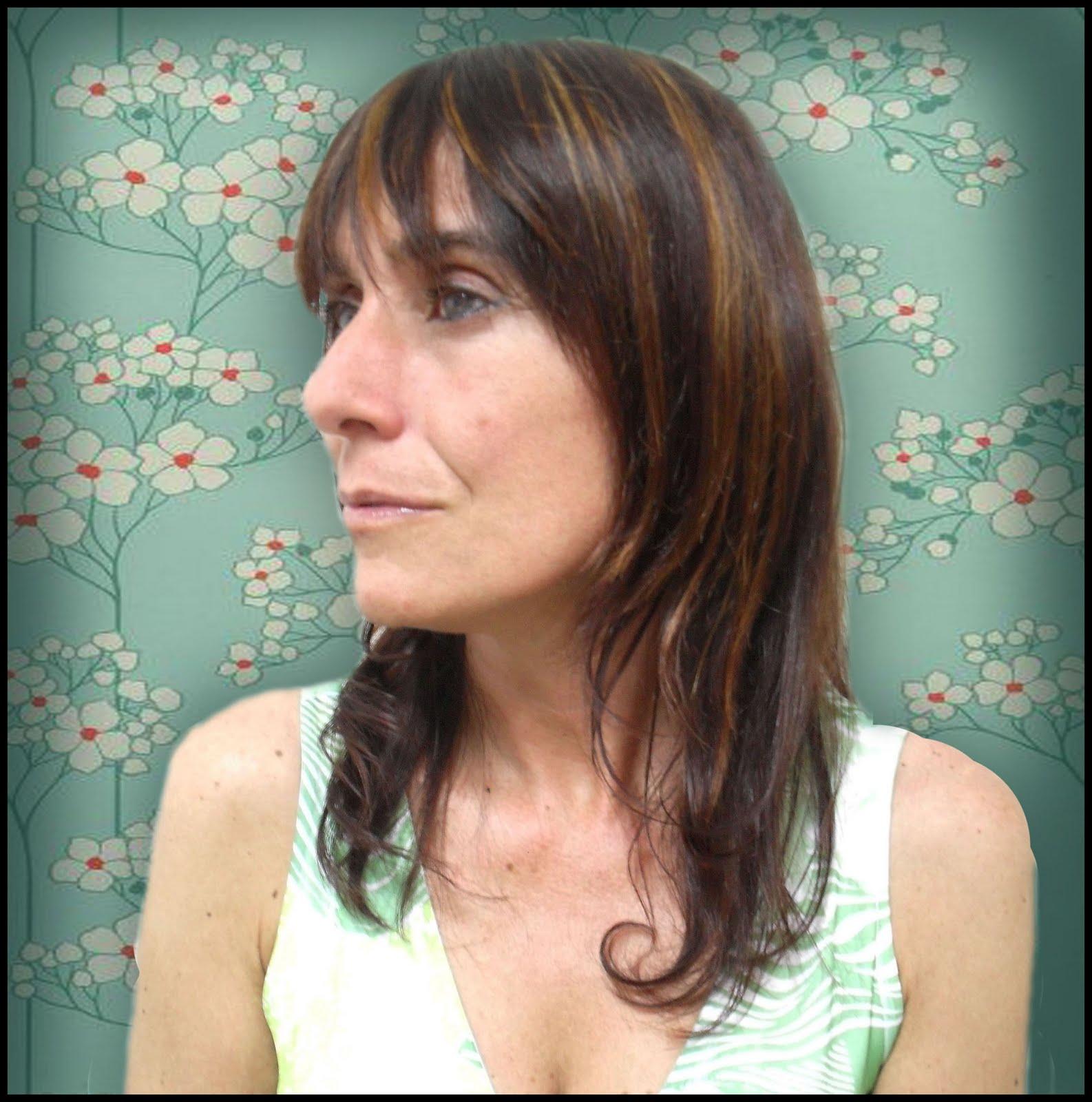 Iluminar Baño Oscuro:mi obra es tu cabeza: Mechas localizadas Claudia (Bella Actriz