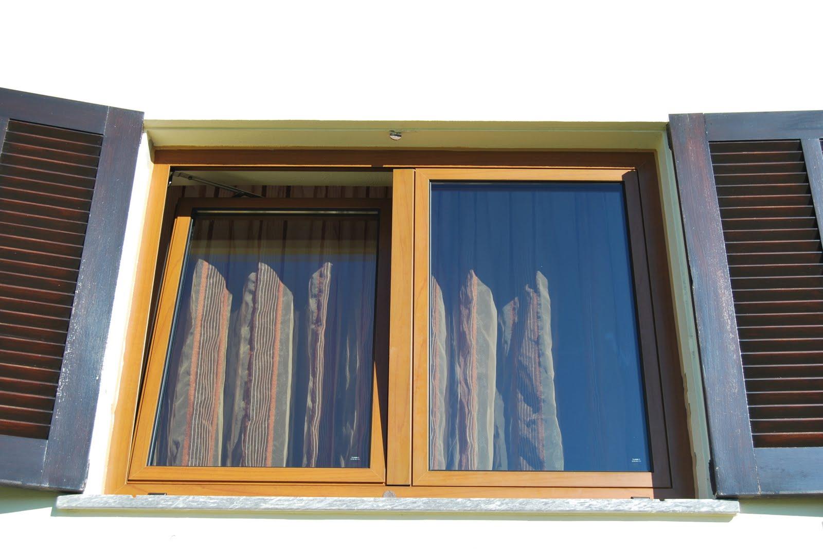 #A76F24 casa com janelas: Substituição madeira por alumínio ruptura  714 Janelas Vidro Duplo Curitiba