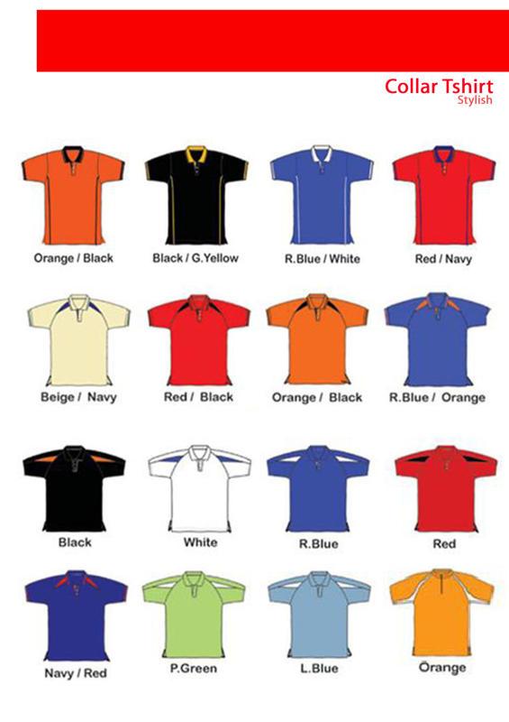t-shirt berkolar kosong= RM17 - RM35. ~ t-shirt berkolar dengan sulam