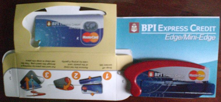 I love, love BPI! It may be odd to sing the praises of a bank/credit card