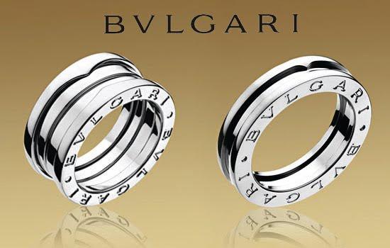 Attractive wedding rings: Bvlgari wedding ring