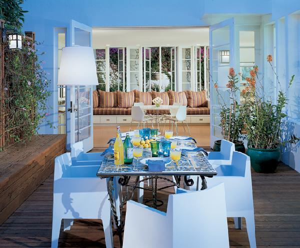 Key West Themed Backyard : These last two could fit very well in Key West homes Light and airy