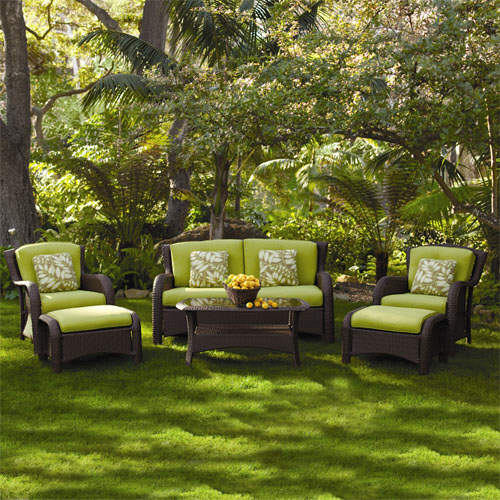 Outdoor living ideas outdoor seating sets luxury for Luxury outdoor living