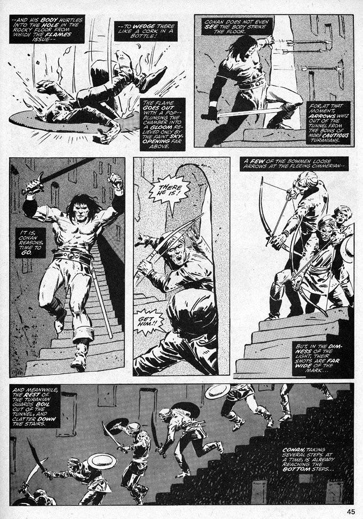 The Savage Sword Of Conan Issue #38 #39 - English 45