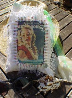 sac de plage vintage les Ateliers de Sathyne