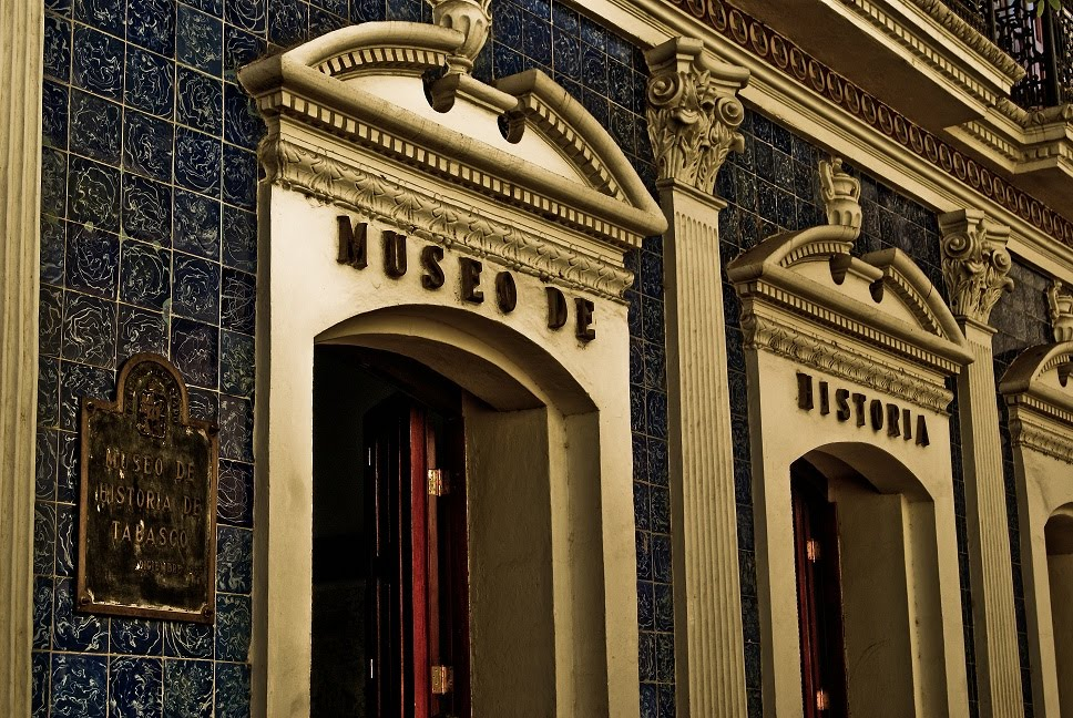Tabasco turistico casa de los azulejos for Casa de los azulejos historia