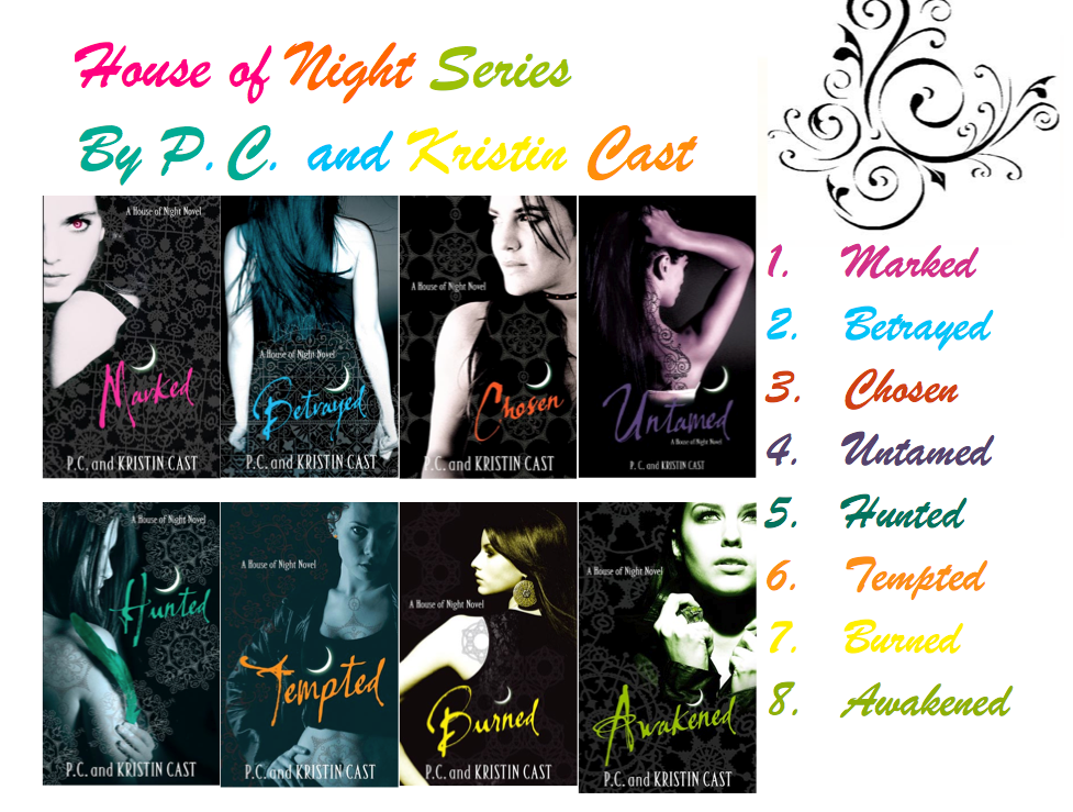 awakened house of night. NOTE: House of night series