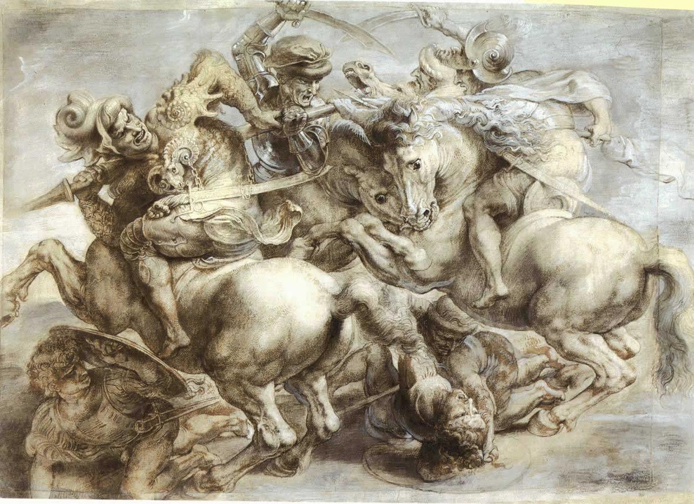 OLJA\'S TEAM: Historia: los caballos de Leonardo da Vinci