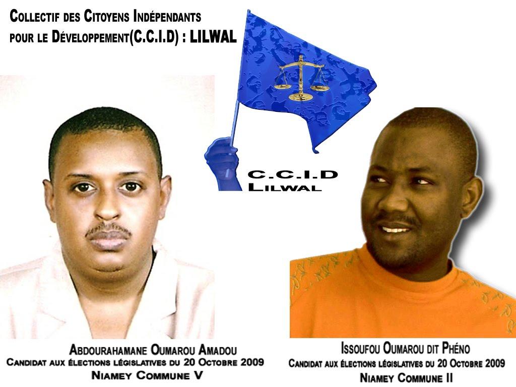 Candidats Indépendants  CCID - LILWAL