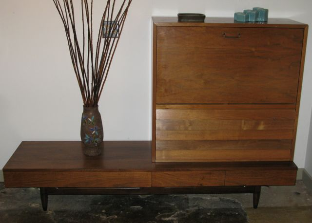 Mad For Mid Century One Mid Century Bar Many Uses