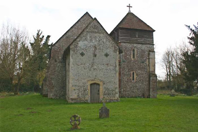 rear of church