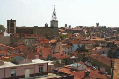 skyline Perpignan