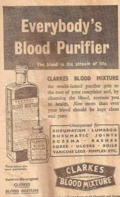 1942 newspaper ad blood purifier