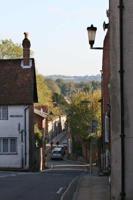 narrow road Winchester