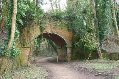 arch under viaduct