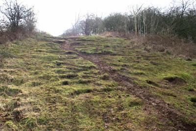 downhill path